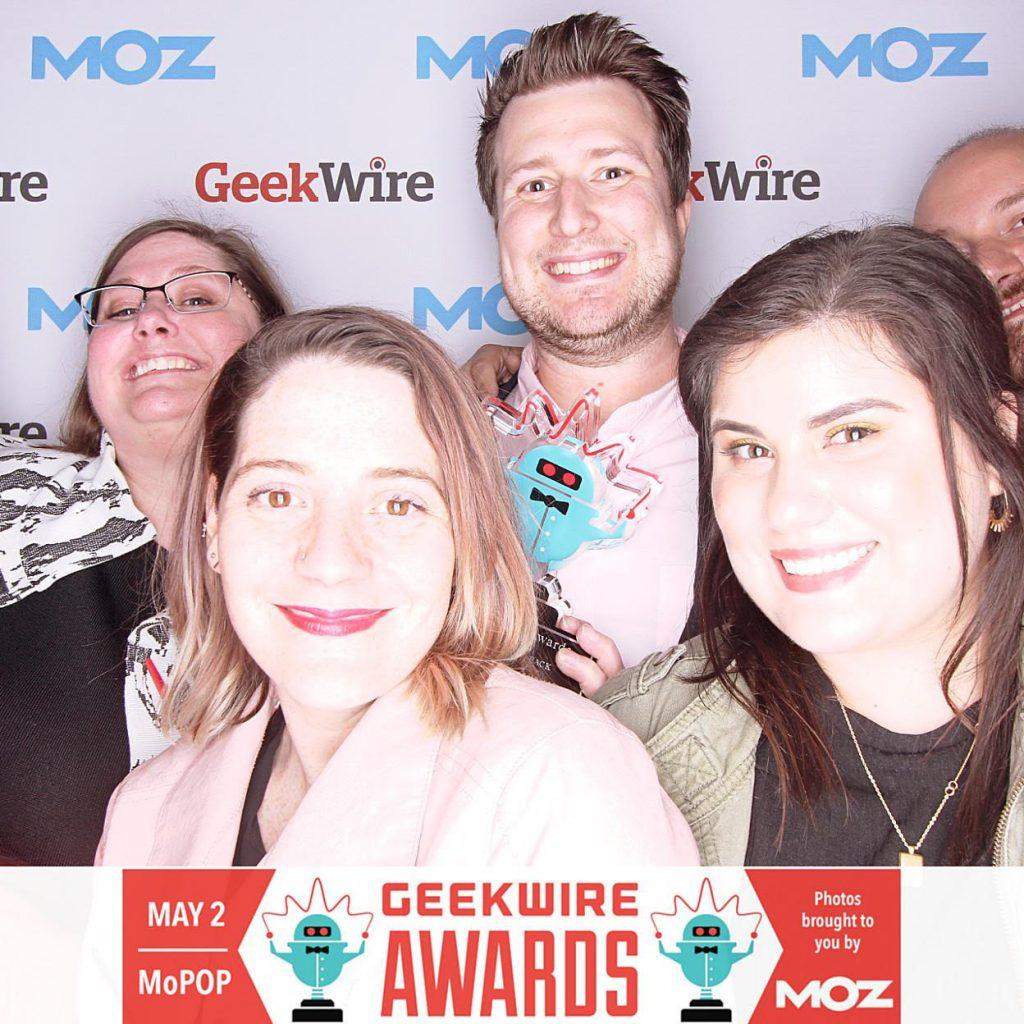 Geekwire Photobooth